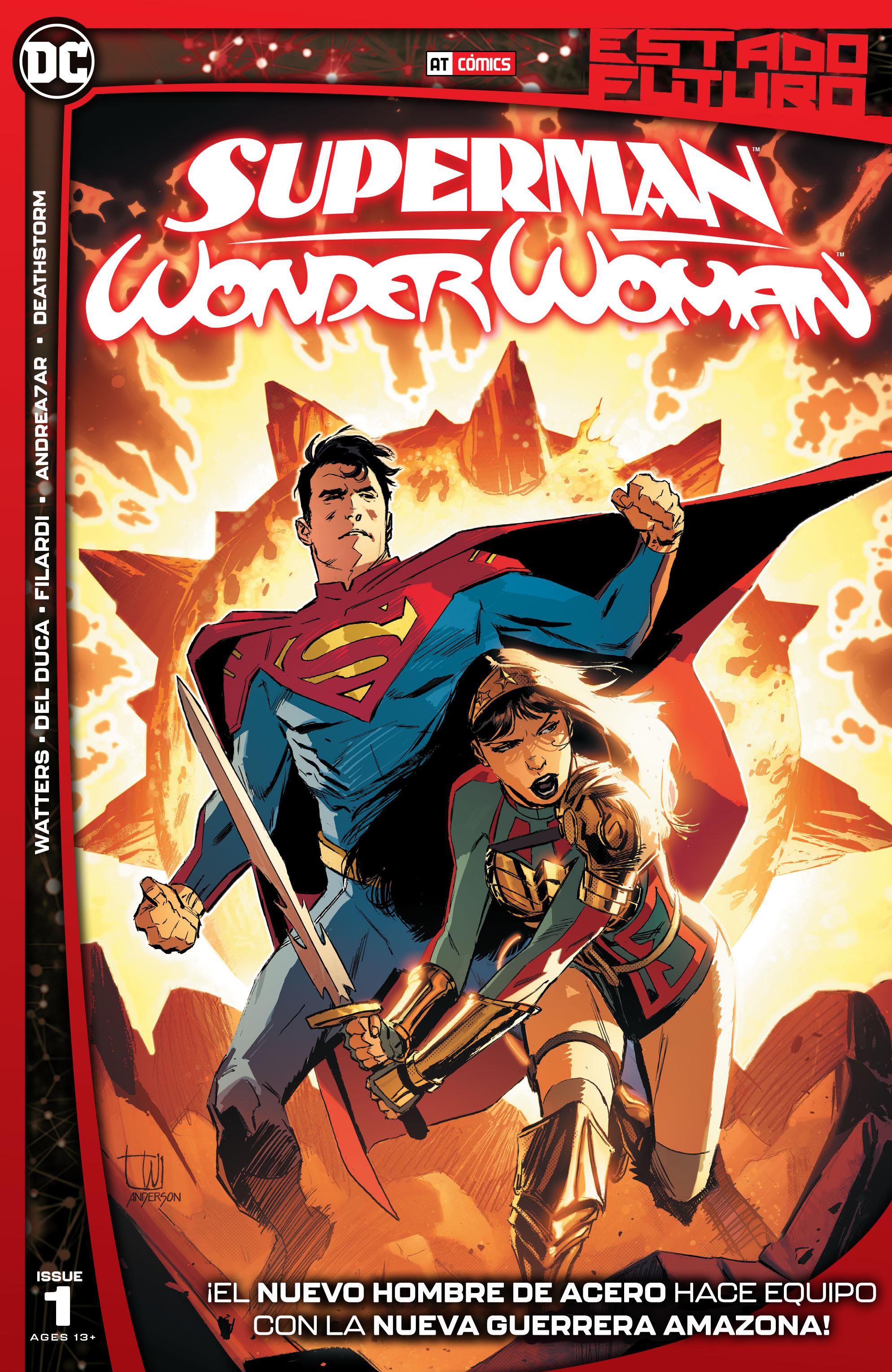 Estado Futuro - Superman - Wonder Woman